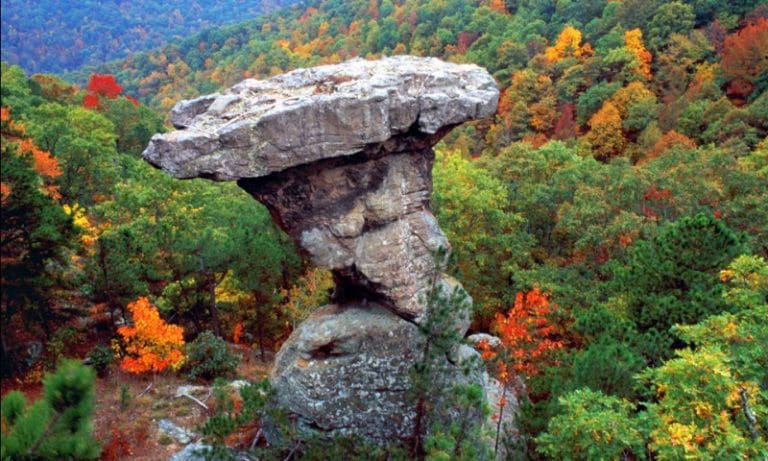 ozark national forest - stone formation