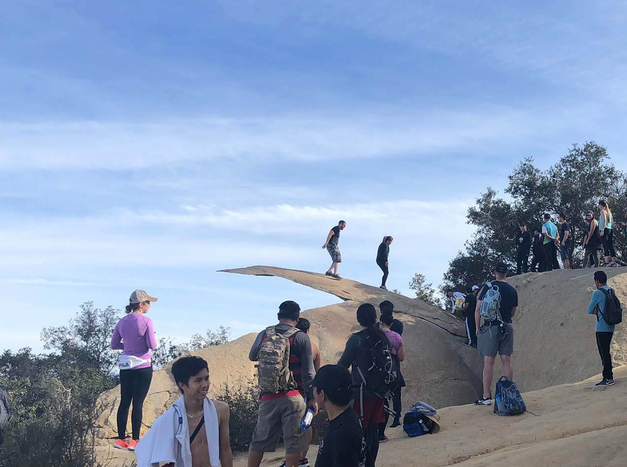 San Diego – Hiking Potato Chip Rock