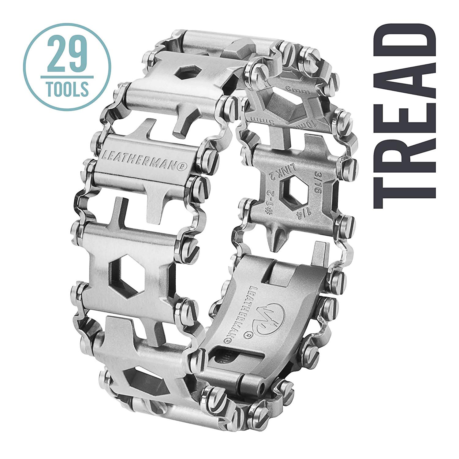 Leatherman Tread Bracelet as one of the essential camping gear