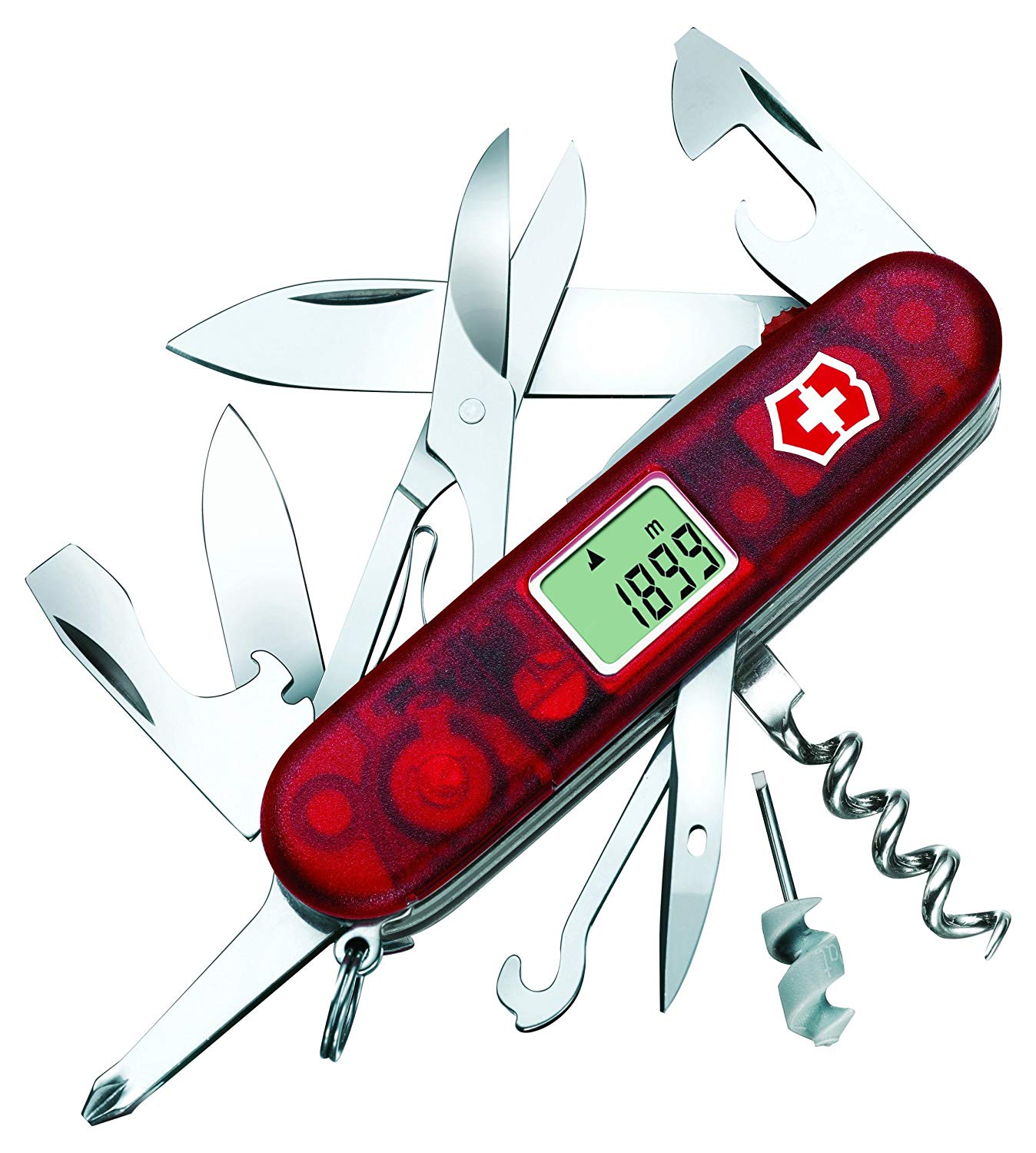 Victorinox Traveller Lite Multi-Tool (Red) as one of the essential camping gear