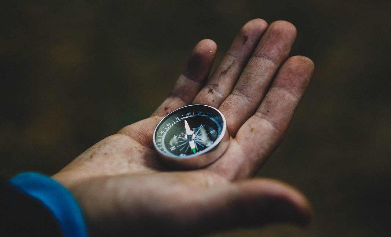 A compass to bring when hiking the breakneck ridge