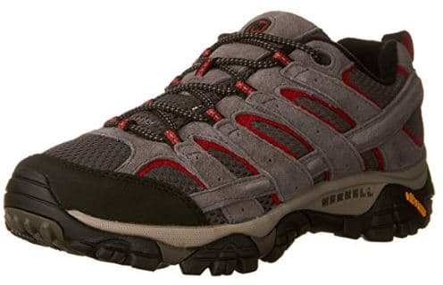 Merrell Moab 2 as one of the best hiking shoes