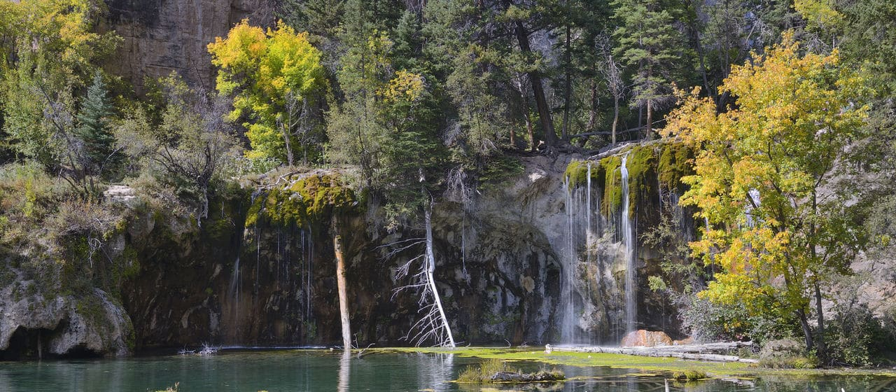 Water in Hanging Lake Considerations