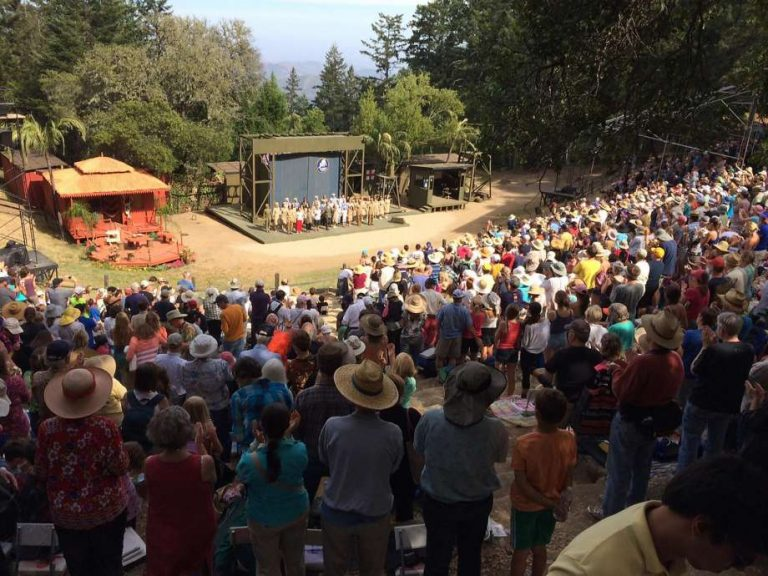 mount tamalpais - Cushing Memorial Amphitheatre on Mt. Tamalpais
