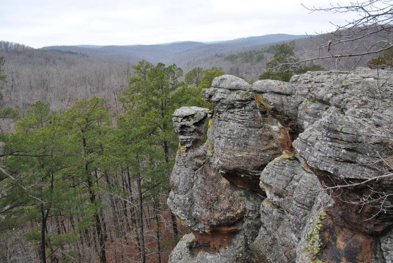ozark national forest - Pedestal Rocks Trail