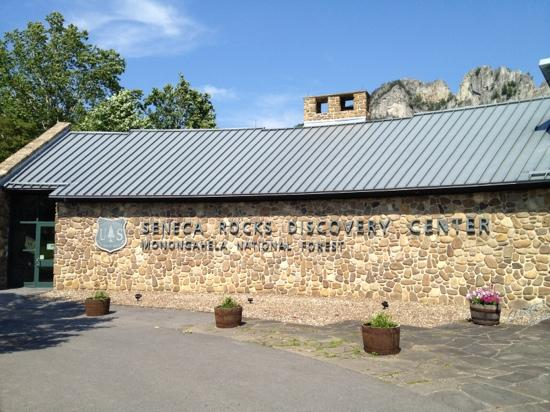 Seneca Rocks Discovery Center's office