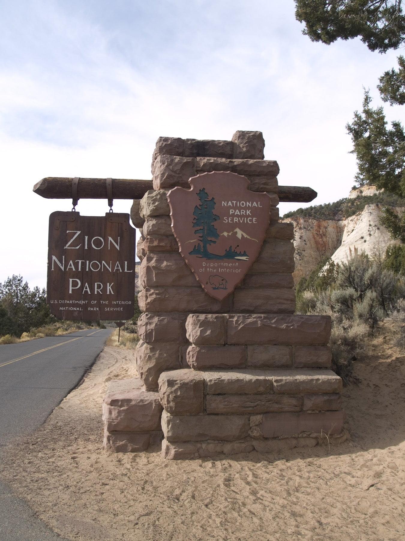 zion national park border