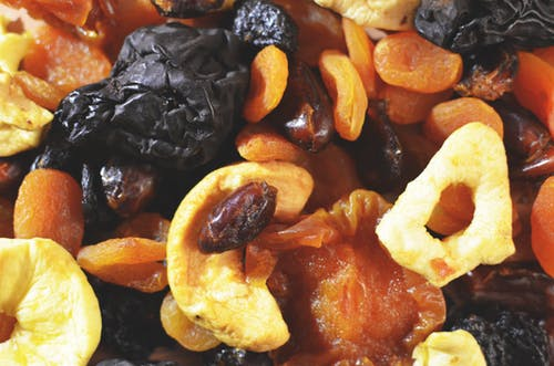close up photo of dried fruits
